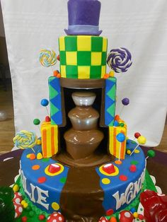 Amazing Charlie And The Chocolate Factory Cake Picture &amp Image  cakepins.com