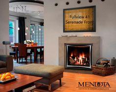 Mendota Fullview 41 with Serenade Front Gas Fireplace Hobbs Mechanical, Inc.
