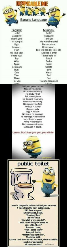 Top 3 #Hilarious #Memes By The #Minions