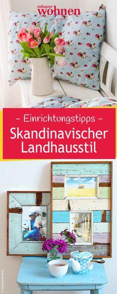 Decor 10 DIY para organizar o Home Office de maneira fofa Living - skandinavischer landhausstil wohnzimmer