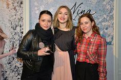 Con María Valverde en el evento de Nina L'Eau