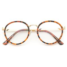Shirley Round Vintage Frame Spectacle Glasses