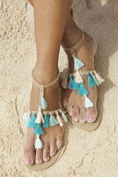 bohéme sandals