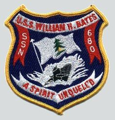 Insignia of SSN-680 William H Bates