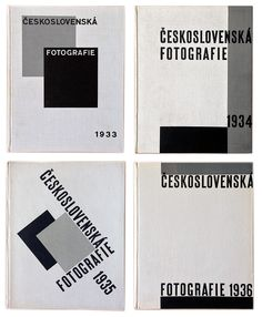 Československá fotografie - Karel Teige - 1933-1936
