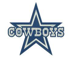 "Dallas Cowboys embroidery designs.  Dallas Cowboys Logo. Formats: CSD, DST, EXP, HUS, JEF, PES, SHV, VIP, XXX, VP3,   Sizes: 3.76x3.53"", 4.73x4.45"", 5.25x5.10"" Price 2.50$   Contacts: provokator04@rambler.ru"