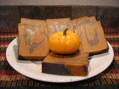 Cold Process - Pumpkin Soap Recipe
