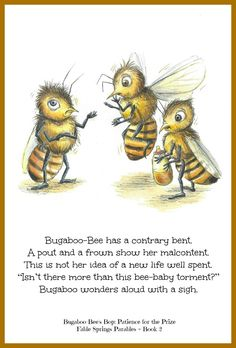 Bugaboo-Bee's Bop: Patience for the Prize www.fablespringsparables.com