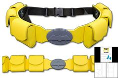 Free Utility belt template!