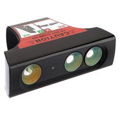 Amplio adaptador de reducción de acercamiento del sensor de la lente del ángulo para xbox 360 kinect