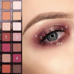 Discover recipes, home ideas, style inspiration and other ideas to try. Make Up Palette, Modern Renaissance Palette Looks, Anastasia Renaissance Palette Looks, Eyeshadow Makeup, Eyeshadow Looks, Makeup Inspiration, Makeup Inspo, Renaissance Makeup, Anastasia Makeup