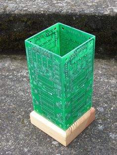 Circuit Board Table Lamp by ChrisArt on Etsy, $30.00