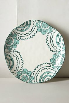 Gloriosa Dinner Plate - anthropologie.com