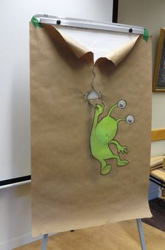 Street artist David Zinn's latest from his chalk art series featuring Sluggo and his friends