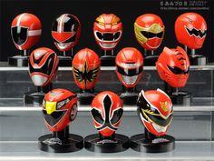 Red Power Ranger Masks