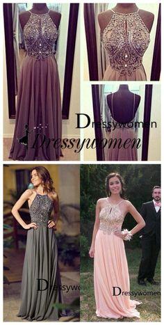 prom dress, 2016 prom dress, long prom dress with key hole, backless prom dress