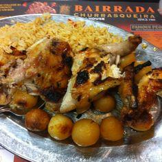 Portuguese food.  http://www.bairrada.ca/