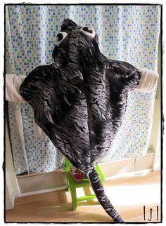 Custom Costume Stingray RESERVED for ekfitzgerald by squarejane