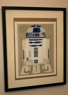 do this silhouette diy for big boy star wars room
