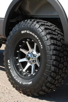 2009 - 2014 Ford - Please show me Oxford White - Hey guys, i bought the Oxford White and would like to see these trucks with different wheels. i am thinking about black wheels, anyone have any pics. Truck Rims And Tires, 4x4 Tires, Truck Wheels, Wheels And Tires, Tacoma Wheels, Toyota Trucks, Ford Trucks, Lifted Trucks, Lifted Ford