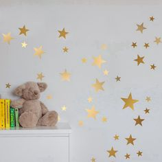 Cheap decorative stickers, Buy Quality vinyl stickers directly from China kids room Suppliers: Gold stars wall decal vinyl stickers- golden Star Kids Rooms Wall Art Nursery Decor Stickers Kids Room Wall Art, Nursery Wall Art, Nursery Decor, Room Decor, Wall Decal Sticker, Wall Stickers, Gold Star Stickers, Baby Room Decals, Decoration Stickers