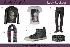 style vestimentaire rockeur pour homme