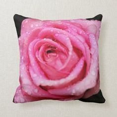 Pink Roses, Pink Flowers, Pink Flower Pictures, Aqua, Cake Blog, Flower Photography, Cute Pink, Dog Design, Custom Pillows