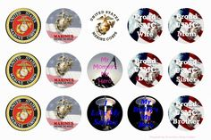 US Army Free Bottle Cap Images by Folie du Jour