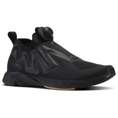 01a693e65 Reebok Pump Supreme Black   White Unisex Running Shoes in Black