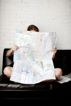 need to remember to use a map as a photography prop- could be so cool