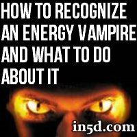 An unconscious competition for energy underlies all energy vampire conflicts. By dominating or manipulating others, they get the extra energy they think they need. It feels good to them but both parties are damaged in the conflict.