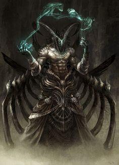 Into the Darkness Seduction...Demonio...impresionante