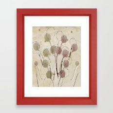 structure bouquet Framed Art Print