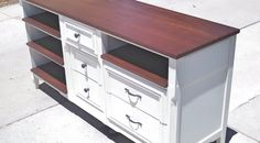 The Dresser from Ave D: Trash to Treasure - from Dailey Woodworks