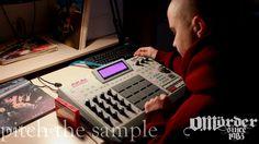 emotional guitar & voice sample on akai mpc beatmaking video
