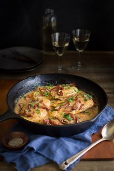 Chicken and Sun-Dried Tomatoes in Creamy Madeira Sauce