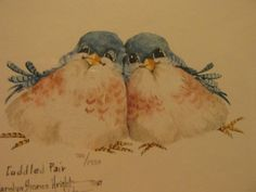 Carolyn Shores Wright Signed and Numbered 190 1950 Cuddled Pair | eBay