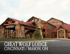 Your Great Wolf Lodge adventure begins in our massive, 84-degree indoor water park. Pin your favorite activities to your own board and start picturing your Great Wolf Lodge Cincinnati/Mason getaway!