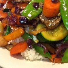 Ginger Beef gluten-free StirFry =dinner by GFDoctor, via Flickr
