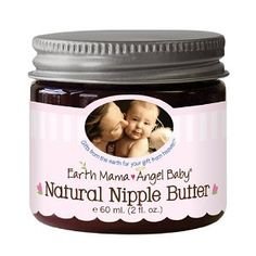 #4: Earth Mama-Angel Baby Natural Nipple Butter, 2 fl oz (60 ml).