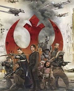 Nice artwork image from the official Rogue One visual dictionary! The rebellion…