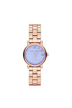 Love this Marc by Marc Jacobs Baker Rose Gold Purple Face watch - grad present :>>>>>>