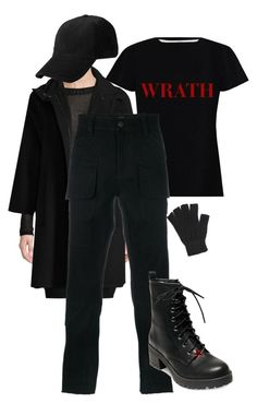 """Dylan Klebold inspired outfit"" by mrs-way-iero ❤ liked on Polyvore featuring Vince, Zimmermann, Hudson, Madden Girl, Forever 21 and rag & bone"