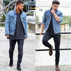 Men style fashion look clothing clothes man ropa moda para hombres outfit models moda masculina urbano urban estilo street