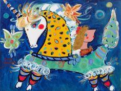 déjame pasar mariposita !! una pintura de Sergio Vergara que me encanta ... (©2001 artmajeur.com/sergiopinto)