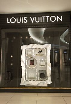 Chocolate box display at louis vuitton  sandton mall, johannesburg - south africa. Love it!