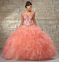 4b2818ea7 Las 17 mejores imágenes de Vestidos de xv años estilo princesa ...