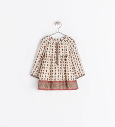 ZARA - KIDS - PRINTED DRESS 9-12 mos $36 // Baby Girl