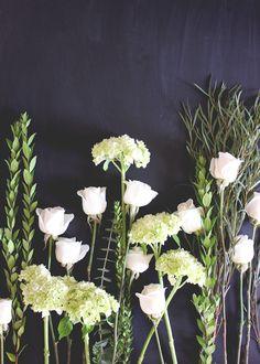A Fabulous Fete: how to create a simple arrangement // 01