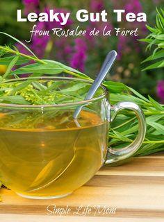 Leaky Gut Tea Recipe - Herbal Digestion Aid